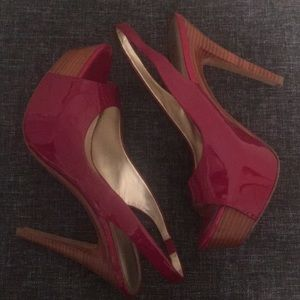 Jessica Simpson Shoes - Red Heels Jessica Simpson